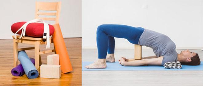 Проксы для йоги Айенгара